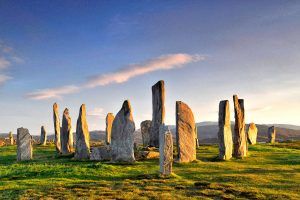 Archaeology in the Outer Hebrides - Callanish Stones©Mairi M. Martin
